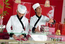 Asian style / Kuchnia azjatycka / kuchnia azjatycka, kuchnia orientalna, sushi, restauracja, ubrania dla kucharzy, odzież kucharska, kitle, bluzy kucharskie, spodnie kucharskie, zapaski kucharskie, czapki kucharskie, tedmar, jobeline, jobeline by tedmar