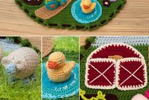 crochet playsets
