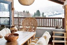 Home // modern ski chalet / Inspiration for a mountain home renovation
