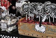 Racing car candy buffet