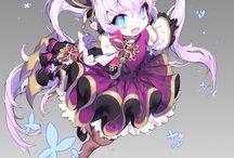 SD chibi character