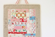 Patchwork inspiration (non quilts)