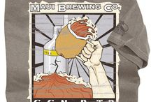 Men's Maui Brewing Tees / Maui Brewing Co., is known for handcrafting beers made with the  finest natural ingredients available in Hawaii and beyond. Their dedication to taste, perfection and sustainability has made them an island favorite as well as a force to be reckoned with in the world of microbreweries. Experience the flavor of Hawaiian style. / by Crazy Shirts