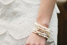 Wedding Gifts For The Bride! / Fresh Water Pearls wrapped on the wrist and can be worn for years to come!