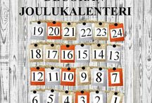Decoran Joulukalenteri / Decoran joulukalenteri, josta paljastuu päivittäin mukavia yllätyksiä aina 24. päivään asti.
