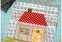 Quilt small homes blocks