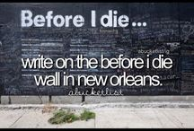 Community Project: Before I Die Wall