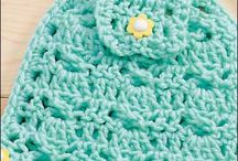 CROCHET TOWEL TOPPERS