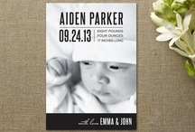Inspiration for Birth Announcements