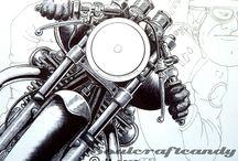 tattoo motorcycle