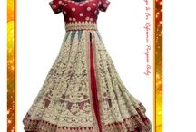 Bollywood Gown