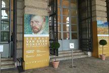Verona -Seurat Van Gogh Modrian