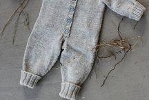 Bebek örgü tulum