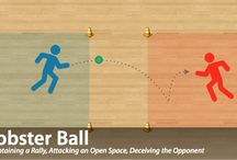 Net & Wall Games for Physical Education / Check out some of the awesome Tactical Games Sheets we have created for #physed teachers.