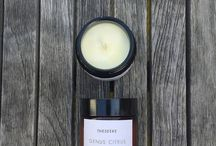 SHOP | Candles, Candle Holders + Lighting / A selection of affordable candles which smell delicious - Lychee & Black Tea, Coconut & Lime, Orange & Vanilla to name a few.. As well as candle holders and lighting.