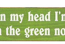 Golf Signs and Sayings