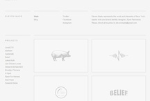 Websites : clean + minimal / by DesAutels Designs