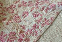 Antique French Quilts / French Quilts around France