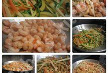 Hauptgerichte mit Fisch & Meeresfrüchte