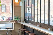 minimalist cafe