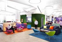 Secondary Colours Interiors / Schemes inclusive of green, orange and purple...