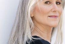 Georgous Grey Hair Styles