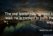 Real leader