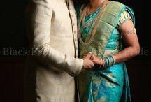 fuchia pink sari-blouse