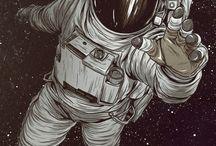 Космос рисунки