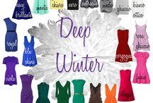 Deep Winter Outfits Inspiration