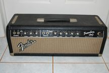 Blackface amps / This album is a reference guide that I will use to reupholster a Tremolux amp.