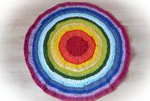 Мои коврики rag rug
