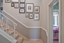 Wall gallery project / We're about to decorate our staircase wall and we are gathering here brilliant ideas for inspiration.