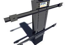Pop up tv mechanism