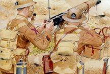 WW1 Asia, Balkans