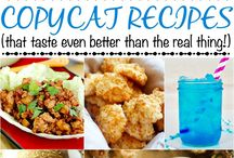 Copy Cat Recipes / Copy cat recipes from your favorite restaurants. Copy cat Wendy's, Chick-Fil-A, Outback Steakhouse. Homemade versions of delicious restaurant dishes!
