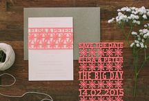 Invitations and Stationery by Rubi Monday