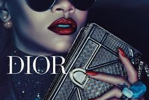 Champaign Dior with Rihanna