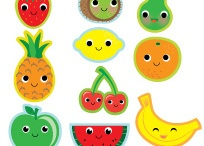 Cool, cute and colourful fruit!!! / Awwww!