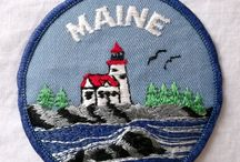 Vintage Iron on Patches