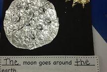The Moon, The Sun, The Earth