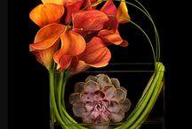 Hotel floral arrangements