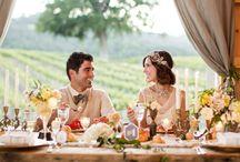Gatsby inspiration / Wedding dresses