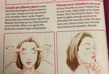 DIY facial exercises