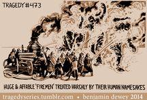 Tragedy Series by Benjamin Dewey / Cool stuff by Mr Dewey