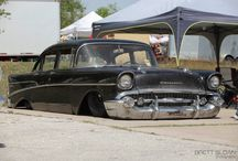 Old Retro Hot Rod. / Old cars.