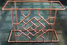 copper art design