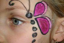 pintura facial simples