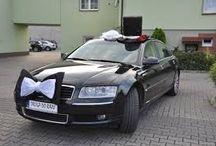 Wystrój auta na ślub