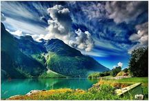 Beauty of Creation...Land, Water & Sky  / by Jennifer Rico